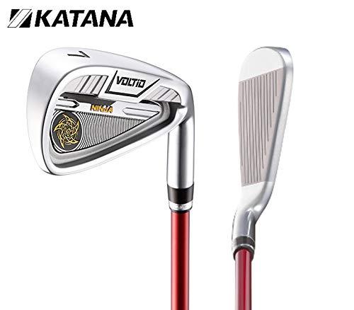 Amazon.com : Katana Golf VOLTIO Ninja Silver ironset 7pcs(6 ...