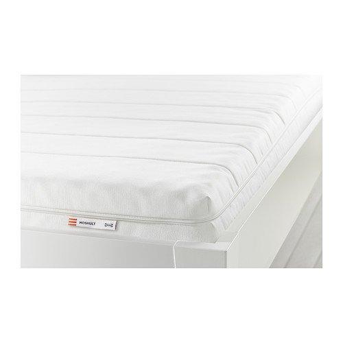 Ikea MOSHULT - Colchón de Espuma, Firme, Blanco - 80x200 cm: Amazon.es: Hogar