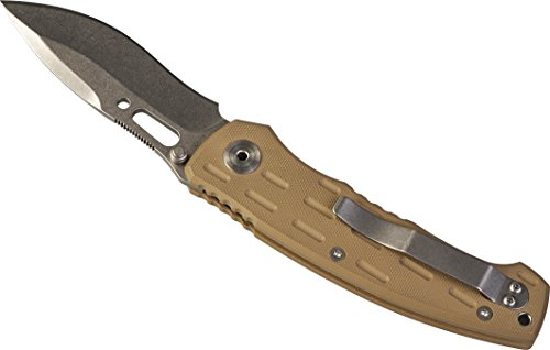 Cheap GSI Tactical. Contact Tactical Knife. 4.7″ Closed, 3.5″ Blade. HRC 53-55 Steel. Military Specs.Hunting Knife. Survival Knife.