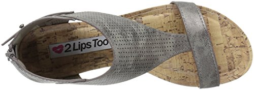Too Lips Too Clover Womens Clover Pewter Too 2 qFwR5xAZR