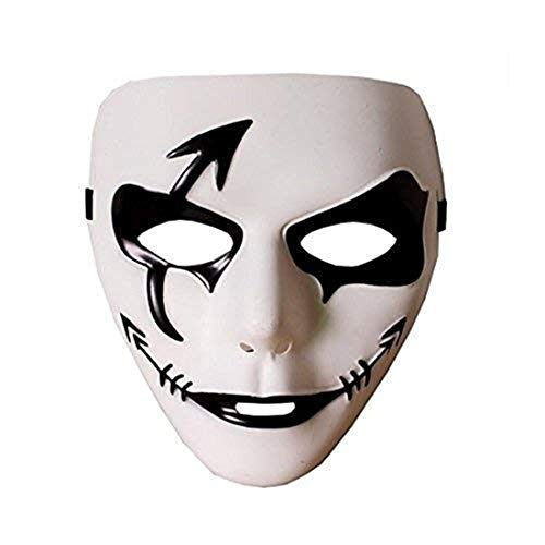 ZLLJH Halloween Ghost Dance Face Mask Horror Scary