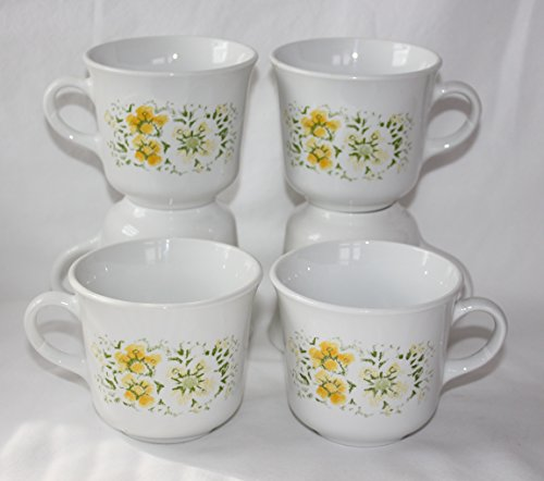 corelle yellow flowers - 1
