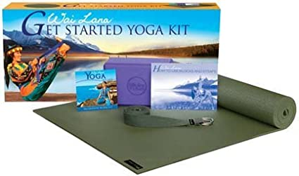 Amazon.com : Wai Lana Easy Yoga Kit : Yoga Mats : Sports ...