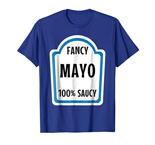 Mayonnaise Costume Shirt Funny Halloween Costumes -
