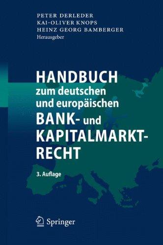 deutsches-und-europaisches-bank-und-kapitalmarktrecht-german-edition