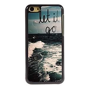 ZXSPACE Let it Go Design Aluminum Case for iPhone 5C , HK