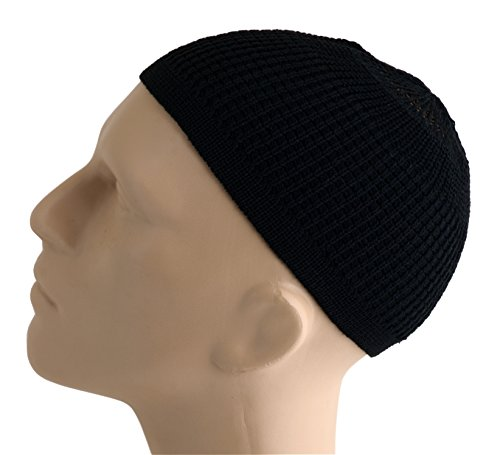Solid Colored Elastic Skull Kufi product image