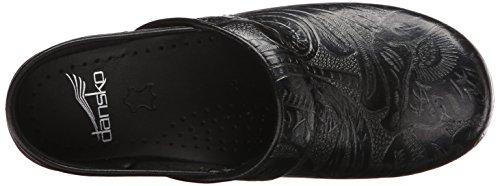 Dansko Women's Professional Clog, Black Tooled Leather , 35 EU/4.5-5 M US by Dansko (Image #8)