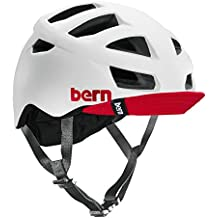 Bern Unlimited Allston Helmet with Red Flip Visor