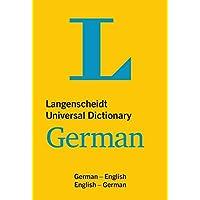 Langenscheidt Universal German Dictionary: German - English/English - German