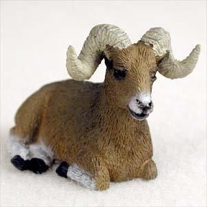 Big Horn Sheep Miniature Figurine