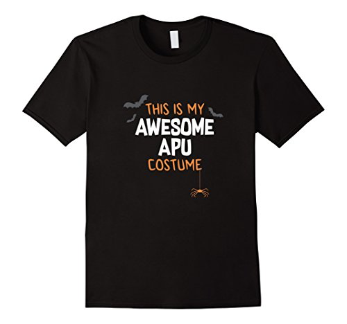 Mens Awesome Apu Costume Shirt, Funny Cute Halloween Gift 2XL (Awesome Costumes For Men)