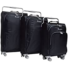 """it luggage World's Lightest 8 Wheel 3-Piece Luggage Spinner Set: 28"""", 24"""", and 19"""""""