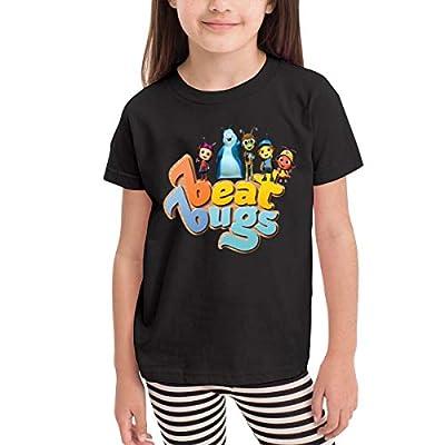 Donmlier Boys&Girls T Shirt School Beat Bugs Design Kid Crew-Neck Short Sleeve T Shirts: Clothing