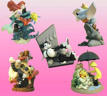 Disney CINEMAGIC PARADISE~PRIMO R~ディズニー キャラクター シネマジックパラダイス プリモR 全5種セット B00937VGM2