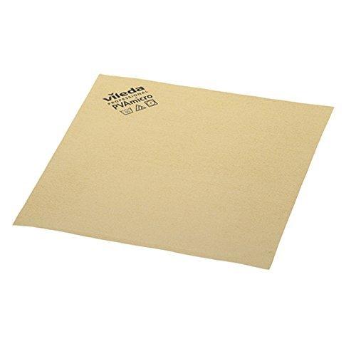 Vileda Professional PVA Microfiber Cloth Yellow (pack of 5)