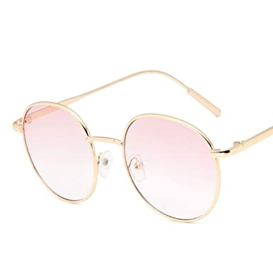 SUGLAUSES Gafas de sol Gafas De Sol Redondas Con Lentes De ...