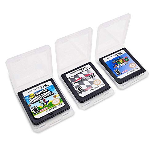 3pcs New Super Mario 64 DS+Super Mario Bros +Mario Kart Game Card For Nintendo 3DS DSI DS XL Gift ()