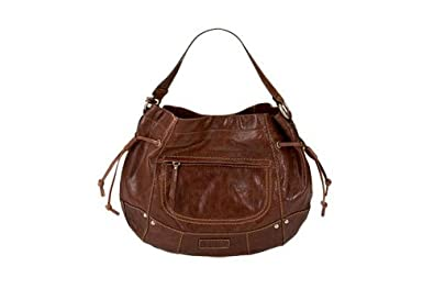 51f7931524bcb Fossil Liberty ZB4178 Braun ZB4178-200 Damen Handtasche Tasche Henkeltasche  Leder Glattleder