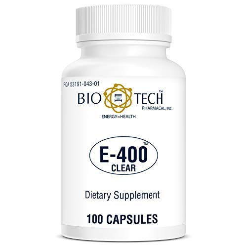 BioTech Pharmacal - E-400-Clear - 100 Count