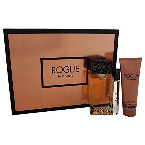 Rihanna Rogue Women's Gift Set, 3 Count (Pack of 7)