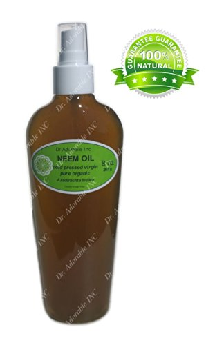 Neem Oil For Skin And Hair Comes with a Sprayer 8 oz