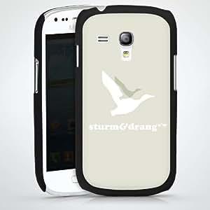 Carcasa Design Funda para Samsung Galaxy S3 Mini I8190 HardCase black - Sturm & Drang