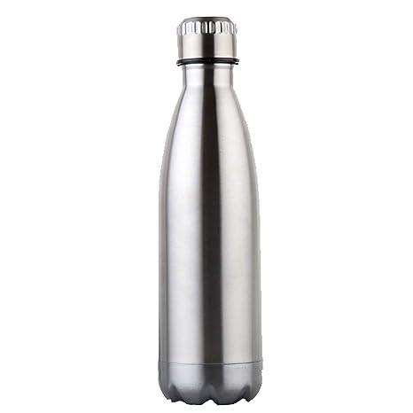 Nabowei Termo Botella Doble Pared 750 ML Acero Inoxidable Botella de Agua vacío Termo Adecuado para café Caliente y Fresca Cerveza