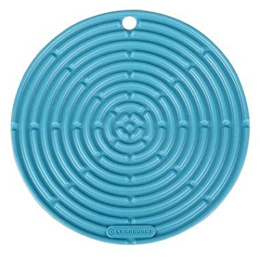 Le Creuset Silicone 8  Round Cool Tool, Caribbean