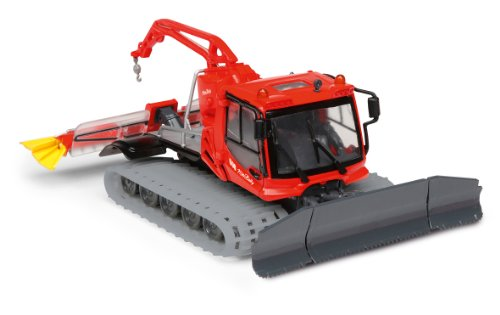 Dickie Toys Snow Groomer Pistenbully 1:32 - Freewheel Function + Light+sound