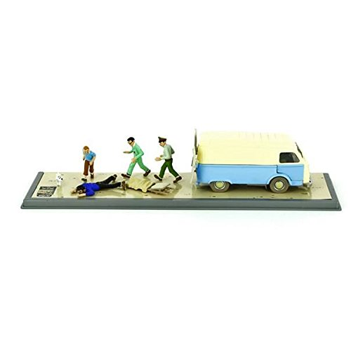 Tintin Model Car Destination Moon Ambulance & - Calendar Tintin