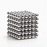 Kuiji Toys Magnetic Ball, Magnetic Sculpture Toys for Intelligence Development and Stress Relief (5MM Set of 216 Balls)