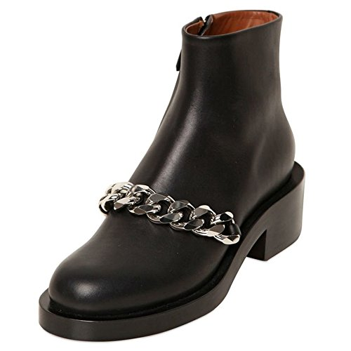 Nine Seven - Botas mujer black-silver chain