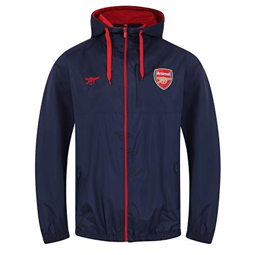 2dd2059d2b9 Arsenal FC Official Football Gift Mens Shower Jacket Windbreaker Medium