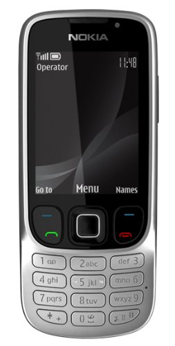 Nokia 6303I Classic Sim Free Mobile Phone - Black/Silver