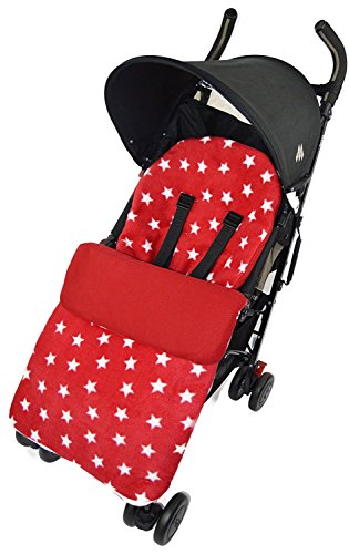 Forro polar saco/Cosy Toes Compatible con Buzz silla de paseo Quinny Moodd Mura Zapp estrella