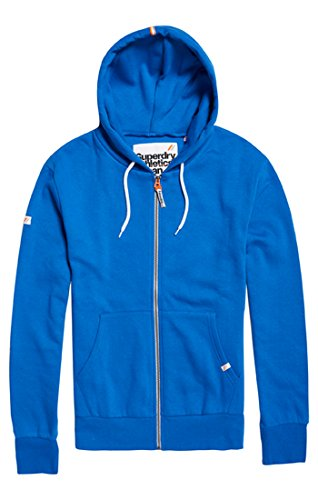 Laathleticziphood Sweat Superdry 06g À nbsp;capuche Homme royal Blu dZqzqwS