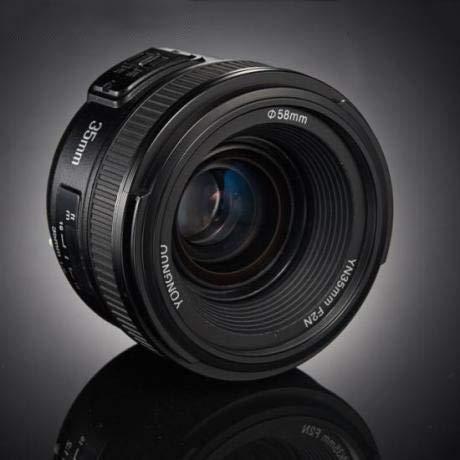 KMLP Nikon DSLRカメラ用YNN35MM F2N 1:2 AF/MF広角固定/プライムオートフォーカスレンズ KMLP (Color : Black)   B07RPKQH1L