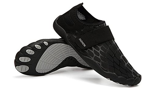 Pool Shoes Aqua Socks Outdoor Mens 012black Shoes Water Yoga for Beach Shoes Dry Swim Surf XFANG Quick P74xwpT