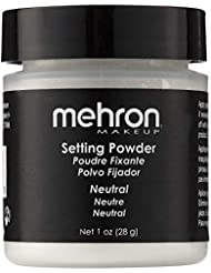 Mehron Makeup Setting Powder (1 oz) (Neutral)