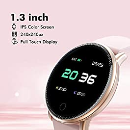 Smart Watch for Android and iOS Phone 2019 Version IP67 Waterproof,UMIDIGI Fitness Tracker Watch with Pedometer Heart…