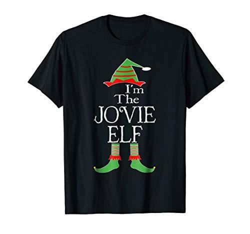 I'm The Jovie Elf T Shirt Christmas Family Costume -