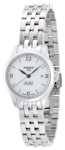 Tissot Women's 'Le Locle' Swiss Automatic Stainless Steel Casual Watch, Color:Silver-Toned (Model: T41118334)