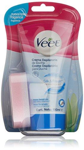Veet In-Shower Hair Removal Cream for Sensitive Skin 5minutes 150ml
