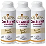 Ana Maria Lajusticia Pack of 3 Collagen with Magnesium, 450 Tablets by Ana Maria Lajusticia