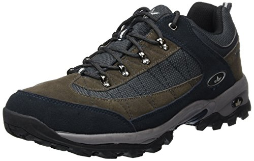 De Marine Azul Cuero Hombre grau Santana Zapatos Lico grau marine Senderismo ZEUFzw