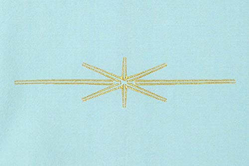 (Embroidered Kitchen Towel - Pyrex Starburst - Retro Towel - Vintage Pyrex Towel - Aqua Towel)