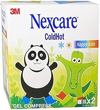 Nexcare ColdHot Happy Kids - Juego de 2 cojines (11 x 12 cm): Amazon.es: Salud y cuidado personal