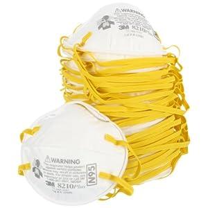 3M 8210 PLUS N95颗粒物防护口罩,20个,1袋