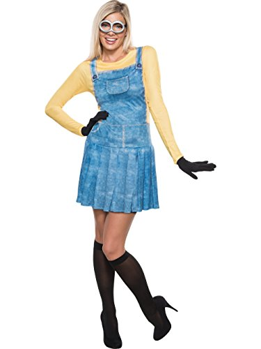 Girl In Sexy Costumes (Rubie's Costume Co Women's Minions Female Costume, Yellow, X-Small)